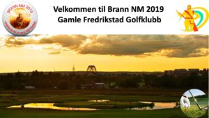 Brann NM Golf 5. og 6. september 2019