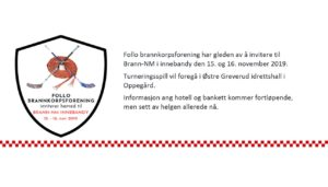 Brann NM Innebandy 15. og 16. november